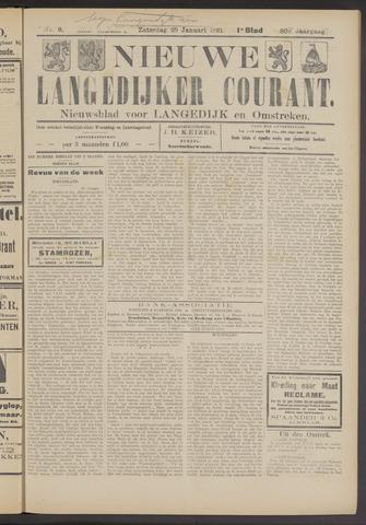 Nieuwe Langedijker Courant 1921-01-29