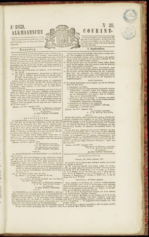Alkmaarsche Courant 1851-09-01