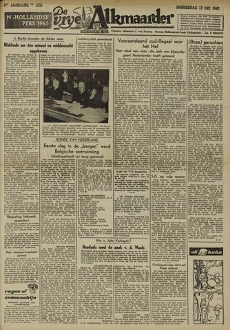 De Vrije Alkmaarder 1949-05-12