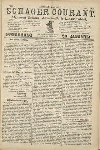 Schager Courant 1874-01-29