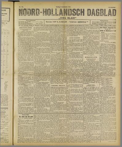 Ons Blad : katholiek nieuwsblad voor N-H 1922-12-15