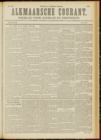 Alkmaarsche Courant 1918-06-04