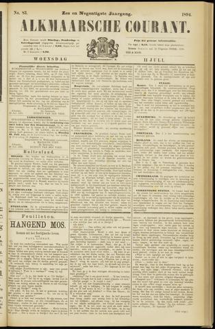 Alkmaarsche Courant 1894-07-11