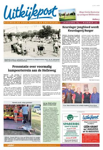Uitkijkpost : nieuwsblad voor Heiloo e.o. 2018-07-04
