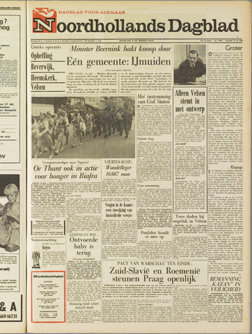 Noordhollands Dagblad : dagblad voor Alkmaar en omgeving 1968-07-16
