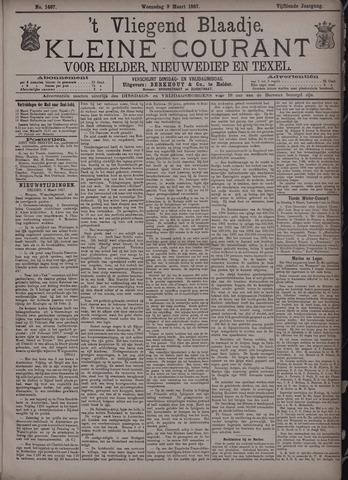 Vliegend blaadje : nieuws- en advertentiebode voor Den Helder 1887-03-09