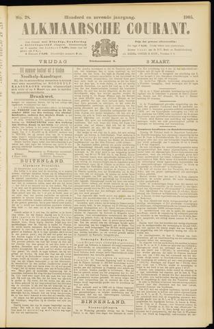 Alkmaarsche Courant 1905-03-03