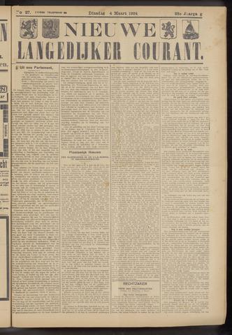 Nieuwe Langedijker Courant 1924-03-04