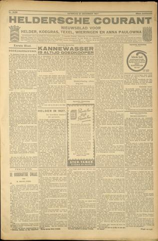 Heldersche Courant 1927-12-31