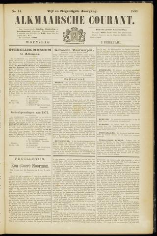 Alkmaarsche Courant 1893-02-01