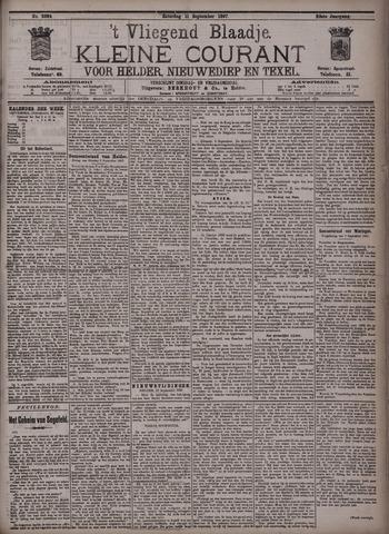 Vliegend blaadje : nieuws- en advertentiebode voor Den Helder 1897-09-11