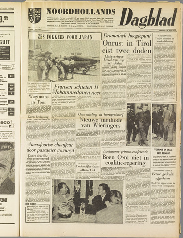 Noordhollands Dagblad : dagblad voor Alkmaar en omgeving 1961-06-20
