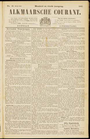 Alkmaarsche Courant 1902-02-09