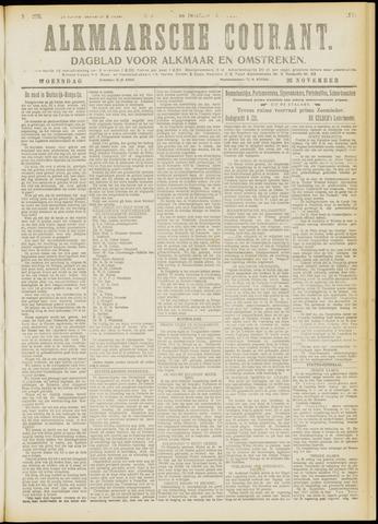 Alkmaarsche Courant 1919-11-26