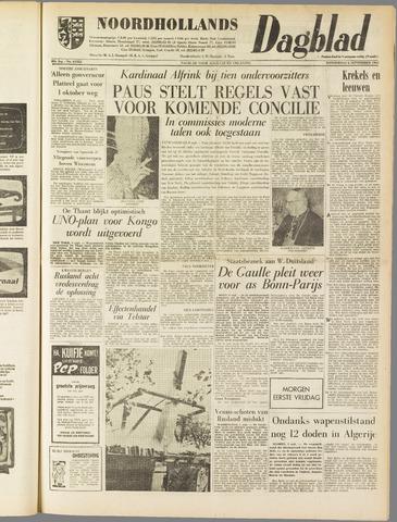Noordhollands Dagblad : dagblad voor Alkmaar en omgeving 1962-09-06