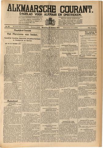 Alkmaarsche Courant 1934-10-29