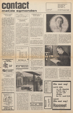 Contact met de Egmonden 1972-01-26