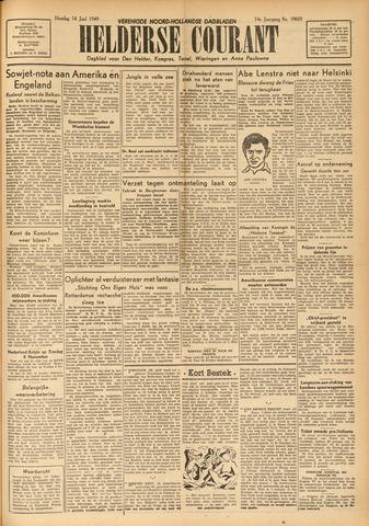 Heldersche Courant 1949-06-14