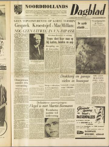 Noordhollands Dagblad : dagblad voor Alkmaar en omgeving 1960-09-30