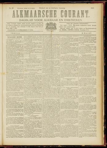 Alkmaarsche Courant 1919-03-21