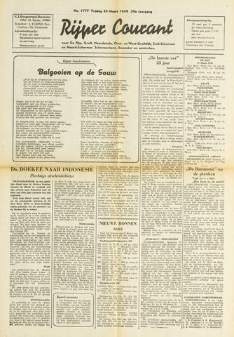 Rijper Courant 1949-03-25
