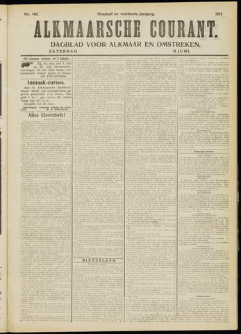 Alkmaarsche Courant 1912-06-15