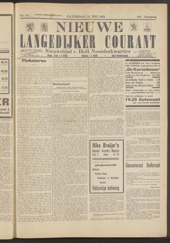 Nieuwe Langedijker Courant 1932-05-14