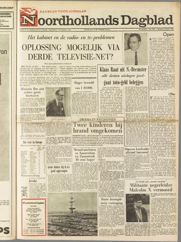 Noordhollands Dagblad : dagblad voor Alkmaar en omgeving 1965-02-22
