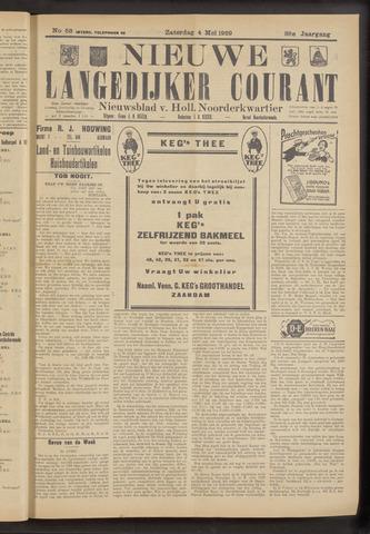 Nieuwe Langedijker Courant 1929-05-04