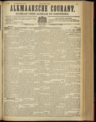 Alkmaarsche Courant 1928-04-24