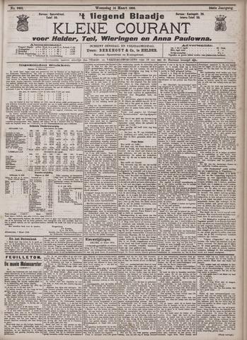 Vliegend blaadje : nieuws- en advertentiebode voor Den Helder 1906-03-14