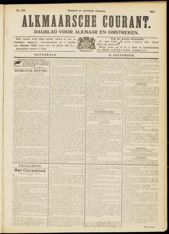 Alkmaarsche Courant 1912-09-19