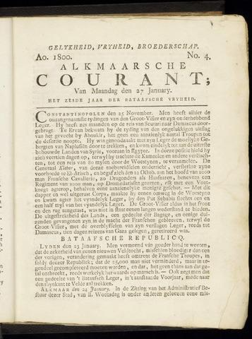 Alkmaarsche Courant 1800-01-27