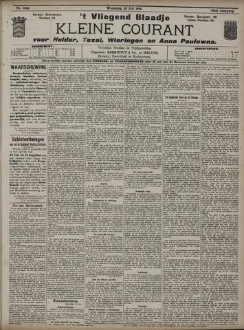 Vliegend blaadje : nieuws- en advertentiebode voor Den Helder 1909-07-28