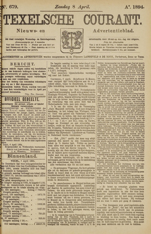 Texelsche Courant 1894-04-08
