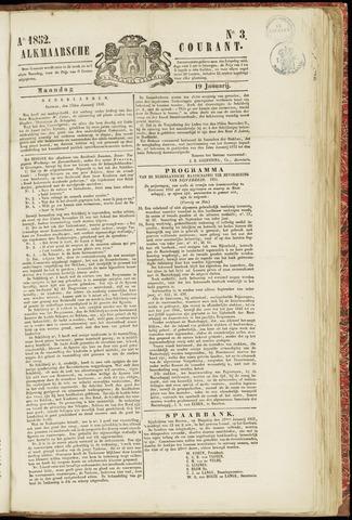 Alkmaarsche Courant 1852-01-19