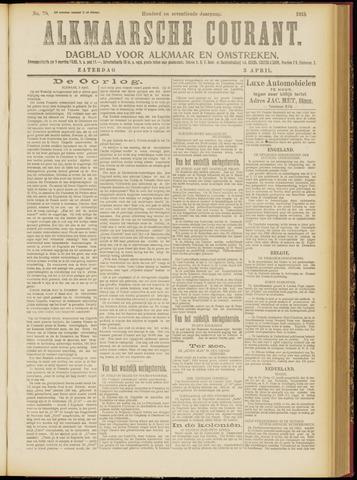 Alkmaarsche Courant 1915-04-03