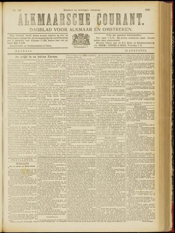 Alkmaarsche Courant 1918-08-19