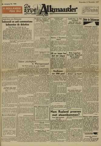 De Vrije Alkmaarder 1947-11-12