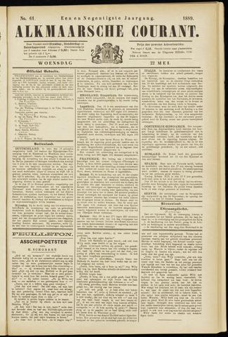 Alkmaarsche Courant 1889-05-22