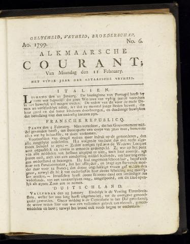 Alkmaarsche Courant 1799-02-11