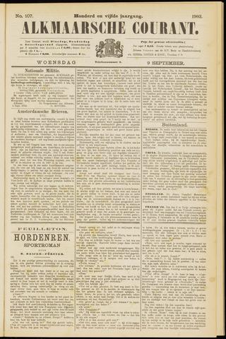 Alkmaarsche Courant 1903-09-09