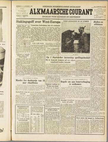 Alkmaarsche Courant 1955-08-27