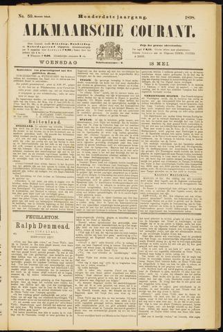 Alkmaarsche Courant 1898-05-18