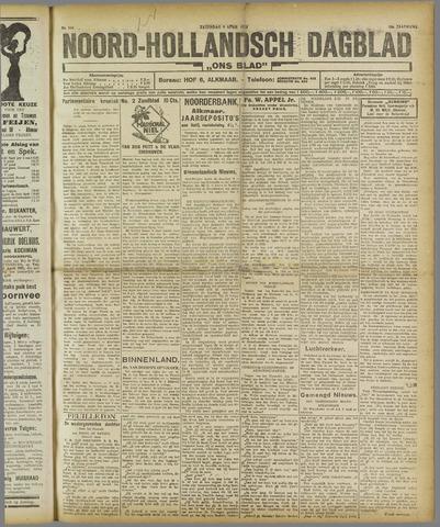 Ons Blad : katholiek nieuwsblad voor N-H 1921-04-09
