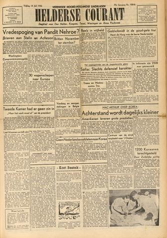 Heldersche Courant 1950-07-14