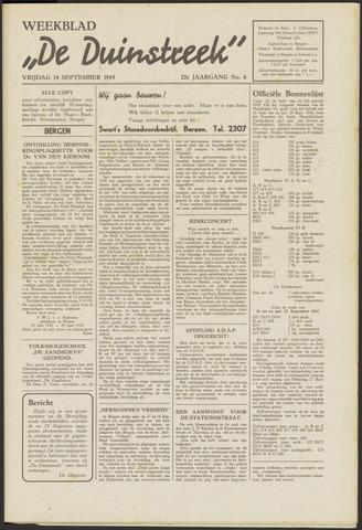 De Duinstreek 1945-09-14