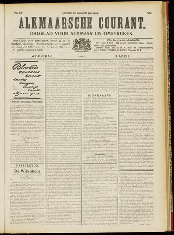 Alkmaarsche Courant 1910-04-13