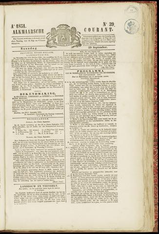 Alkmaarsche Courant 1851-09-29