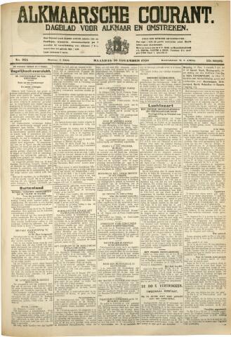 Alkmaarsche Courant 1930-11-10